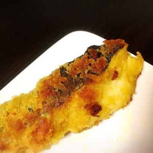 鱈のカレーパン粉焼き 簡単おかず 白身魚