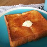 普通の食パンをカフェ風に☆蜂蜜パン