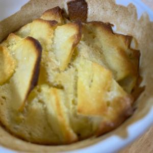 シャキシャキりんごのカップケーキ