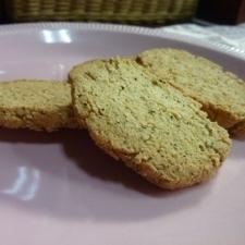 紅茶粉豆腐クッキー