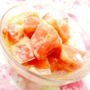 韓国味噌de❤トマトのピリ辛味噌マヨ和え❤