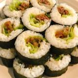 プルコギ肉で巻き寿司♪