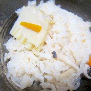 昆布人参と筍エリンギの味醂醤油御飯