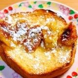 リコッタチーズ入りのふわふわフレンチトースト