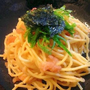 明太子の和風パスタ☆スパゲティー