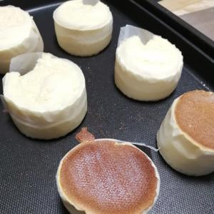 ホットケーキミックスを使ったスフレパンケーキ