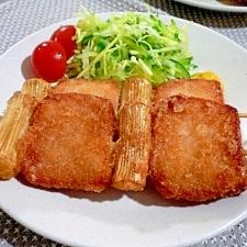 串ハムカツ