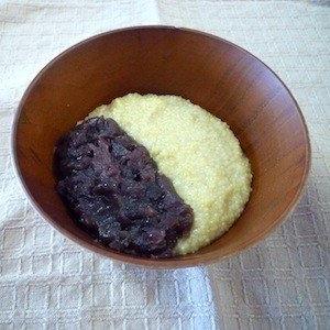 鍋で炊いて作る✩おうちで簡単‼粟ぜんざい