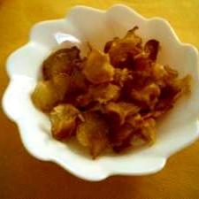 しょうがの甘露煮チップス