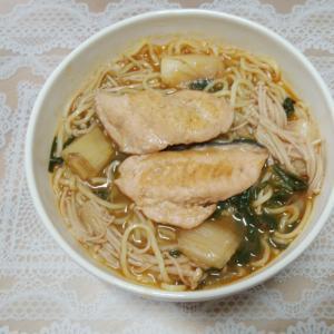 鮭のうま辛キムチラーメン♥