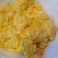 電子レンジで簡単炒り卵