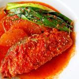 さわらの韓国煮*甘くない煮魚