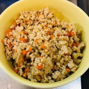 お野菜とそぼろの旨煮