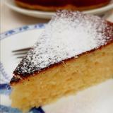 フライパンとHMで(^^)簡単レモンジャムケーキ♪