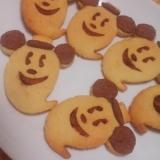 ハロウィンに☆おばけミッキークッキー