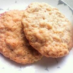 キマシ君のピーナッツバターオートミールクッキー