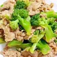 簡単♡豚肉とブロッコリーの中華炒め