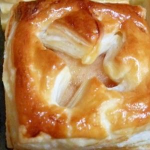 リンゴのはちみつ煮を使って! アップルパイ
