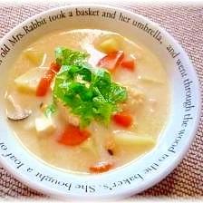 ♪♪ちょっと珍しい・・・味噌酒粕スープ♪♪