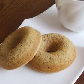ふんわり焼きドーナツ*コーヒー