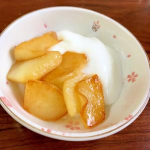 焼きりんごとヨーグルト