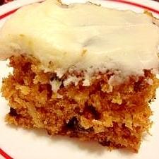 アメリカンスタイル にんじんケーキ