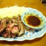 牛バラ肉のローストビーフ