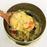 ブロッコリー卵スープオートミール 約215kcal
