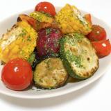 フライパンで!たっぷり野菜のグリル