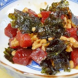辛み好きの♪ チョイ辛「韓流マグロ納豆」