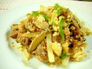 ☆豚キムチの豆腐チャンプルー☆