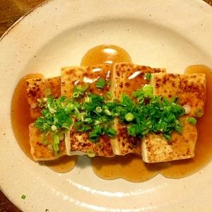 あんかけ焼き豆腐