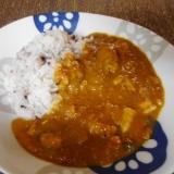 塩豚と玉ねぎの醤油麹カレー