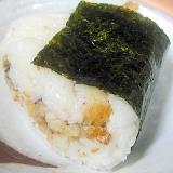 広島県産の鱧で 焼き鱧とかき味海苔のおにぎり
