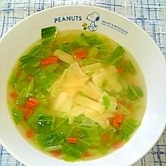 ☆チーズ野菜コンソメスープ☆