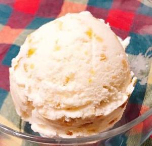 超簡単!マカデミアナッツのアイスクリーム