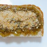 茄子ジャムフルグラ食パン