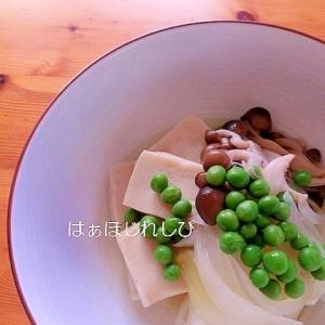 高野豆腐と玉ねぎの煮物✿