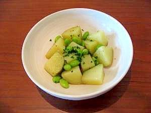 簡単美味しい!!枝豆ポテト