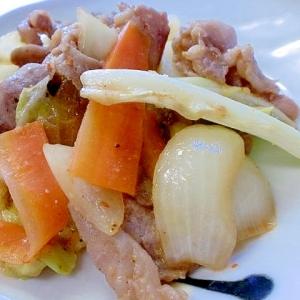 甘辛味噌ダレで作る 豚コマ野菜炒めレシピ