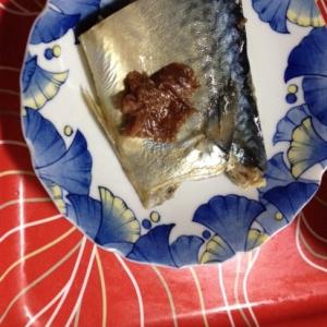 減塩 鯖の梅煮
