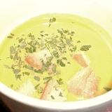 ほうれん草と玉ねぎのクリーミースープ