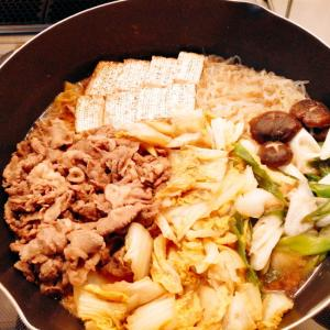 お肉たっぷりのすき焼き
