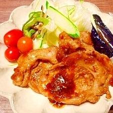 甘め☆豚肉の生姜焼き