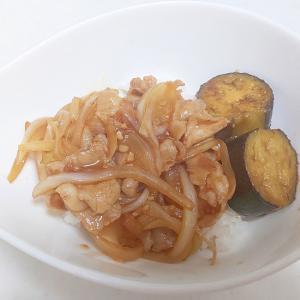 茄子豚丼++