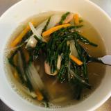 シーアスパラガスのスープ
