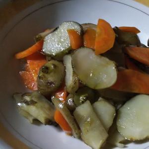 菊芋のだし炒め