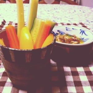 本格&簡単!野菜たっぷりバーニャカウダ♡