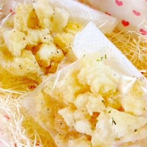 簡単おかき(チーズ&ハーブ・ペッパー&ガーリック)