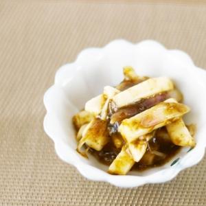 長芋と海苔佃煮シークヮーサーこしょう和え